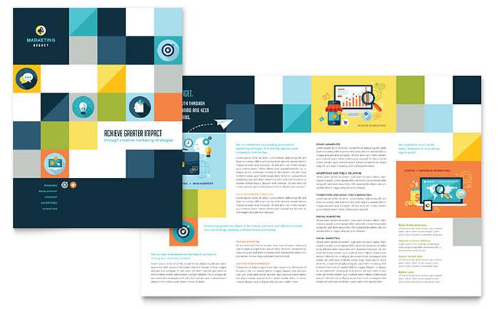 Company Brochure Design Samples