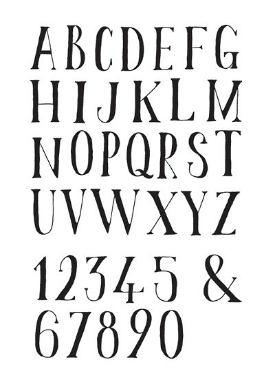 Cool Hand Drawn Fonts