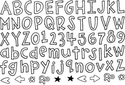 Cute Bubble Letter Fonts