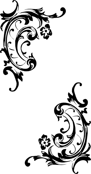 Decorative Border Clip Art Pattern