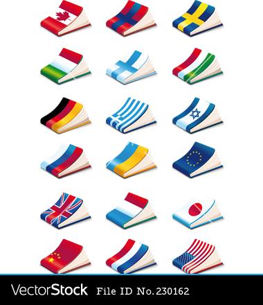 English Language Arts Icons