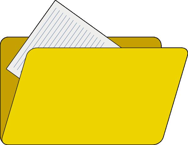 10 Folder Icon Clip Art Images