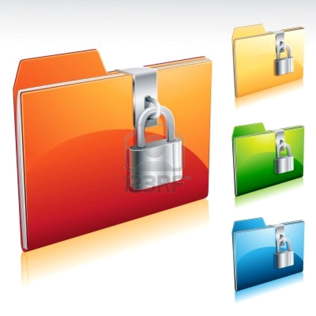 16 Folder Lock Icon On Windows Images