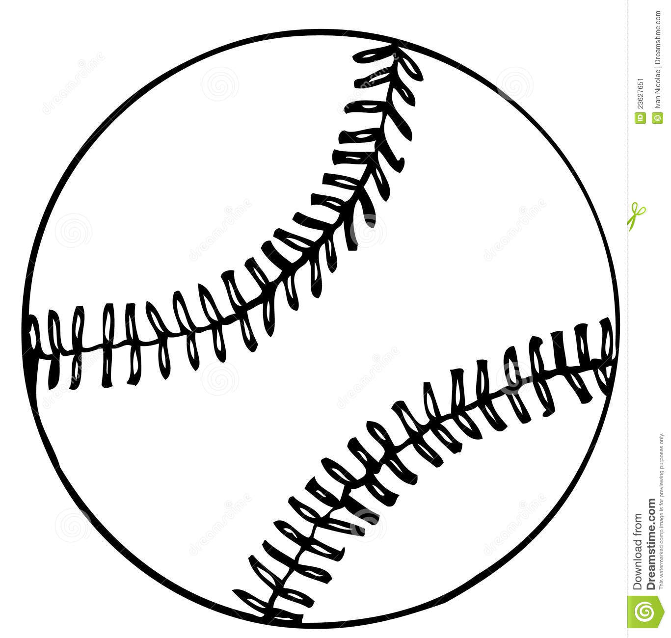 Free Baseball Vector Graphics