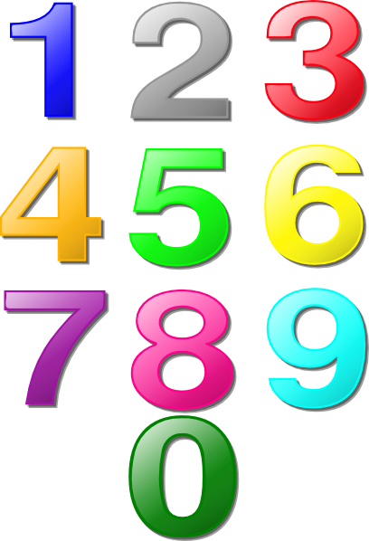 13 Free Number Graphics Images