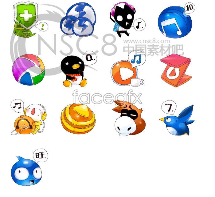 Free Desktop Icons Cartoon