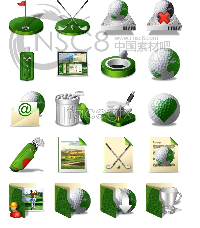 Free Golf Desktop Icon