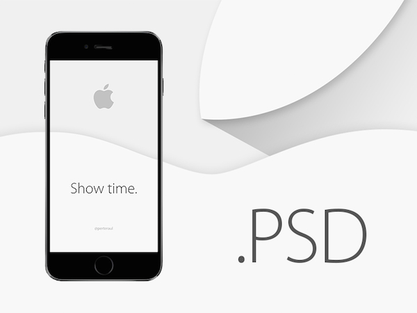 Free iPhone 6 Mockup PSDs