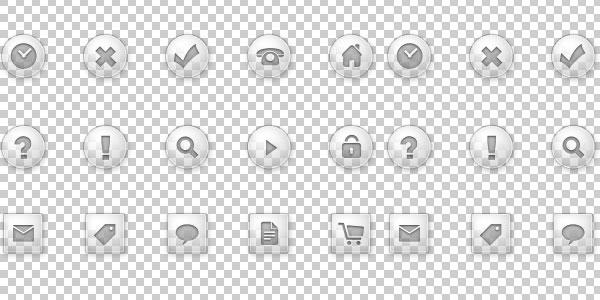 9 Transparent Web Icons Images