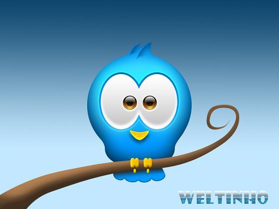 Free Twitter Bird PSD