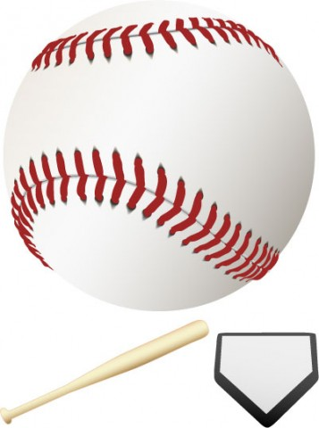 17 Free Baseball Vector Images
