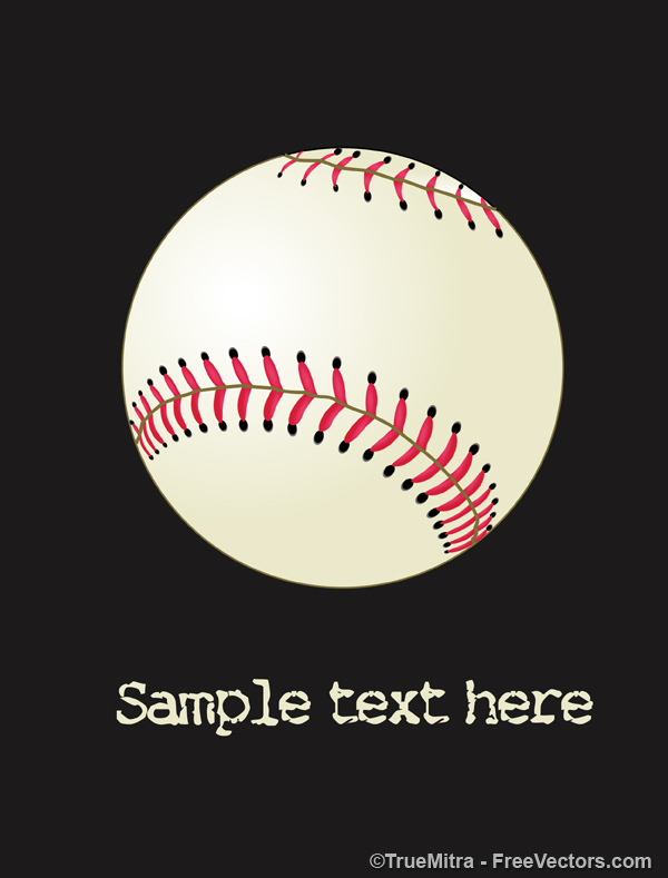 Free Vector Baseball