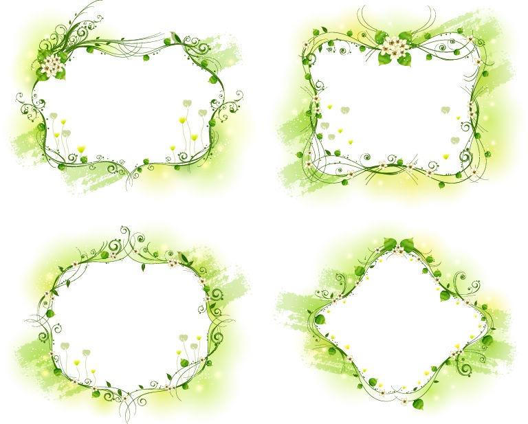 Free Vector Floral Frame