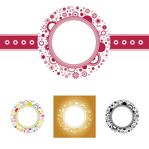 Free Vector Graphics Circle Frame
