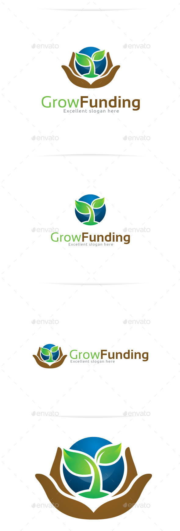 Funding Goal Graphic Template