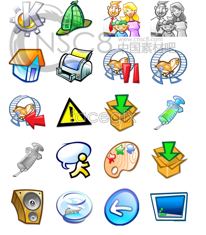 Funny Cartoons Computer Icon