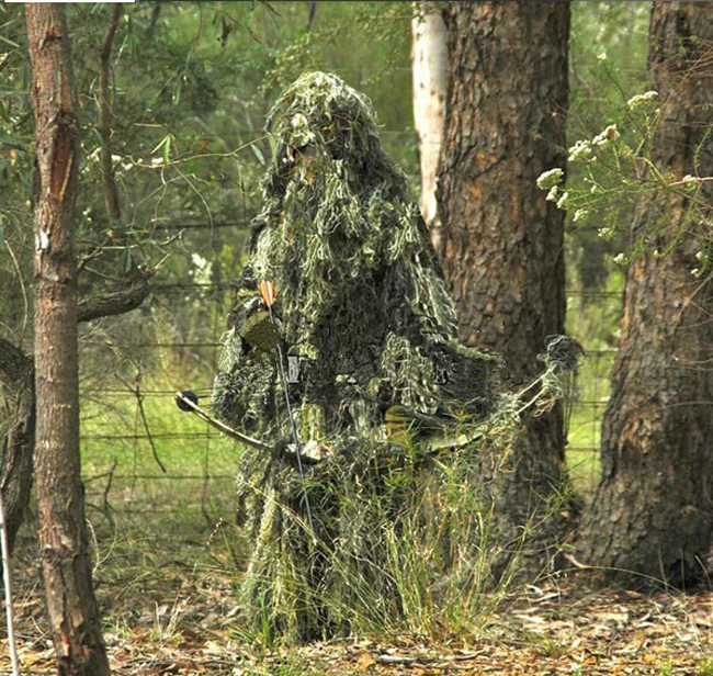 Ghillie Suit Paintball Sniper