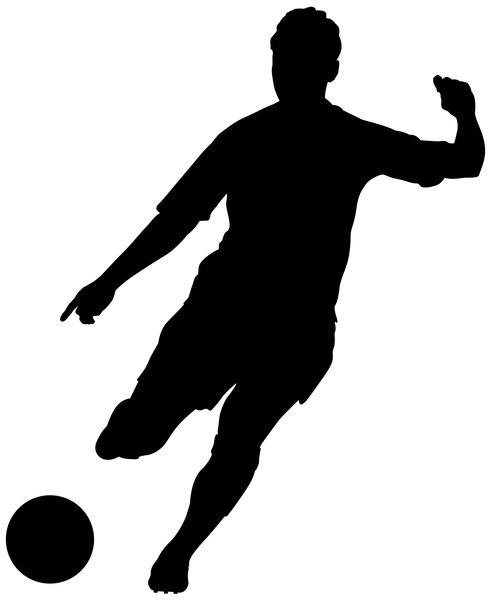 14 Soccer Girl Silhouette Vector Images