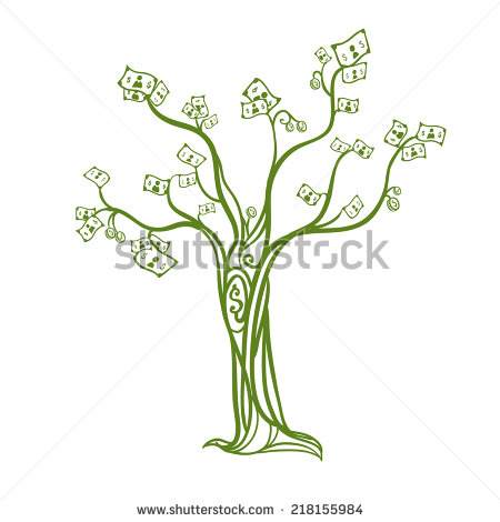 Graphic Design Tree Vector