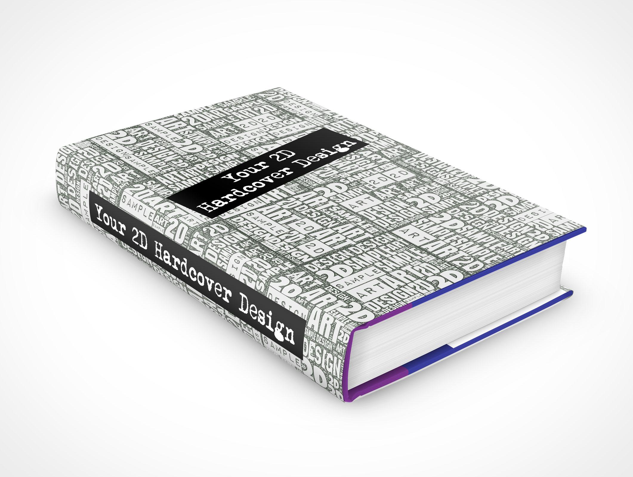 Hardcover Book Mockup Psd Free
