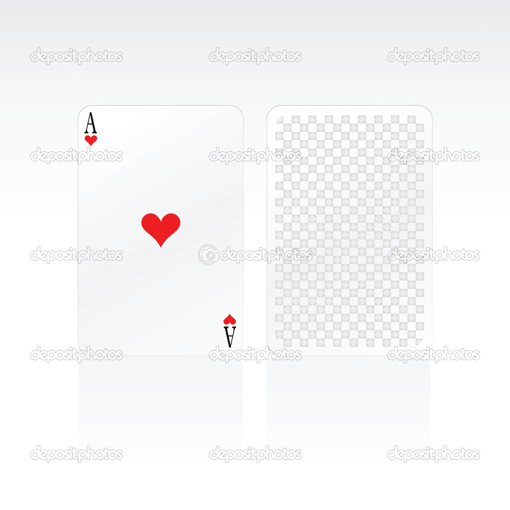 Heart Ace Card