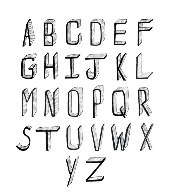 How to Draw Cool Fonts