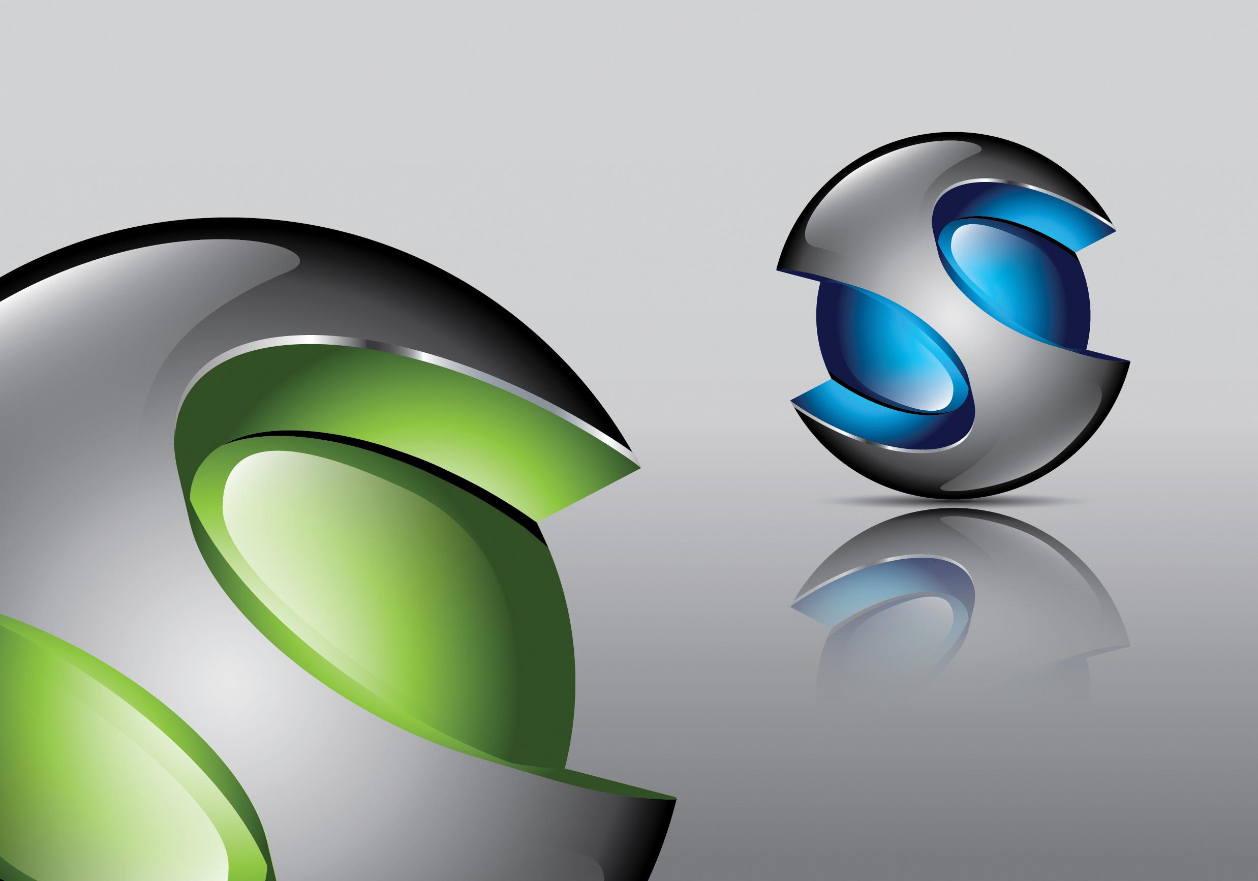 7 3D Logo Design Images