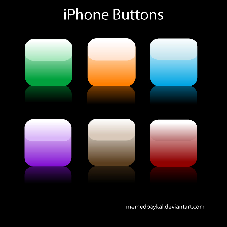 iPhone Button Icon