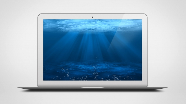 12 MacBook Air PSD Template Images