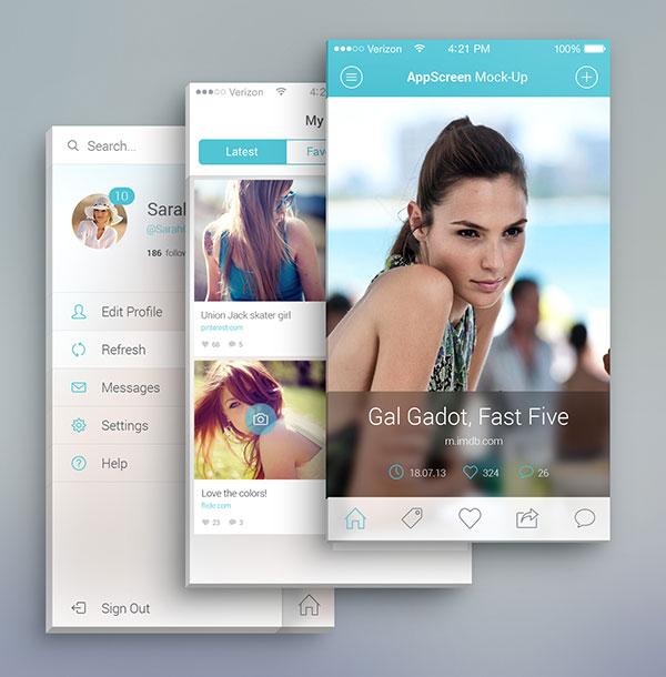 6 Mobile App Design Templates Images - Mobile App Design