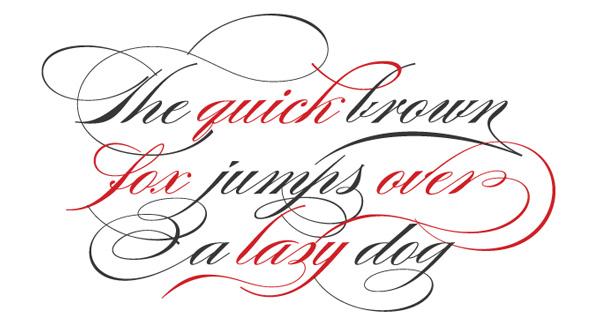 14 Most Elegant Script Font Images
