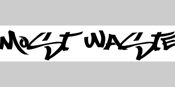 Most Wanted Graffiti Alphabet Fonts