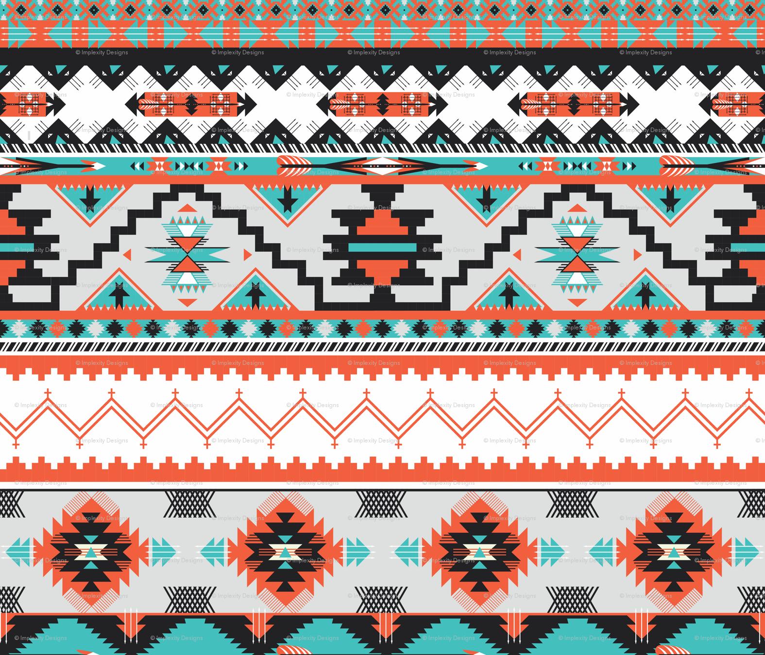 Native American Border Design Patterns