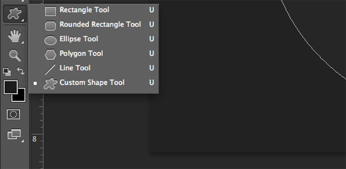 Photoshop CS6 Shape Tool