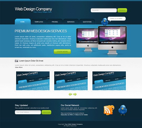 Photoshop Tutorials Web Design