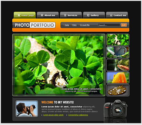 19 Web Page Design In Photoshop Images