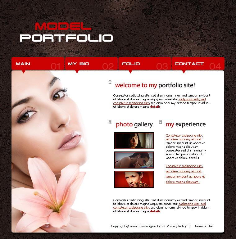 Photoshop Web Page Layout