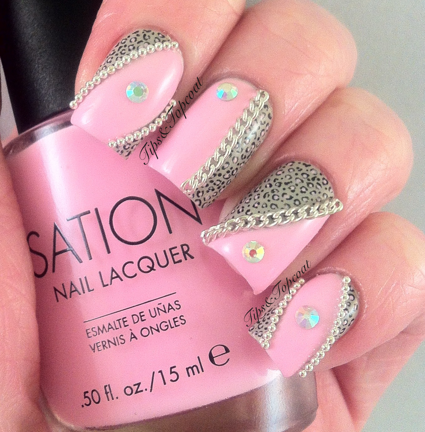 10 Acrylic Nail Designs With Rhinestones Images Acrylic Nails With