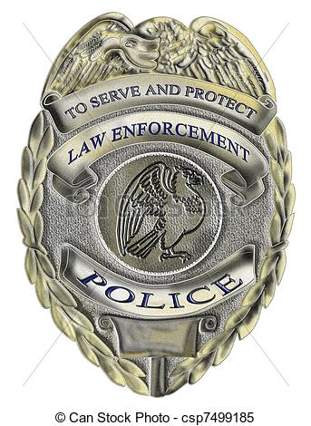 8 Police Badge Icon Images