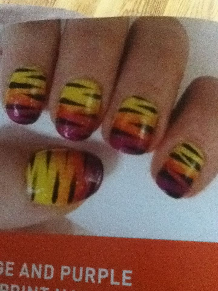Exelent Lsu Nail Designs Photo - Nail Art Ideas - morihati.com