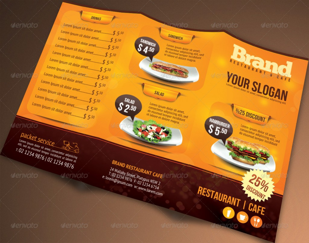 15 restaurant template psd images restaurant menu template psd