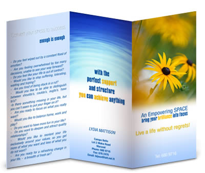 School Brochure Design Samples