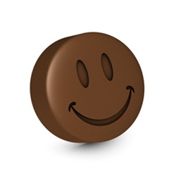 Smiley Face with Chocolate