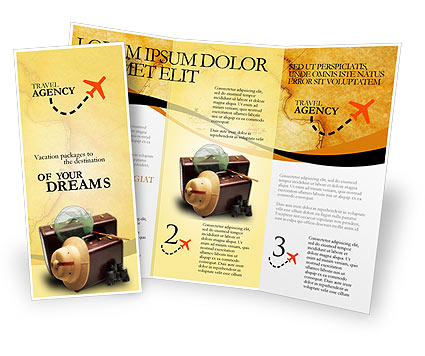 free travel brochure templates for microsoft word