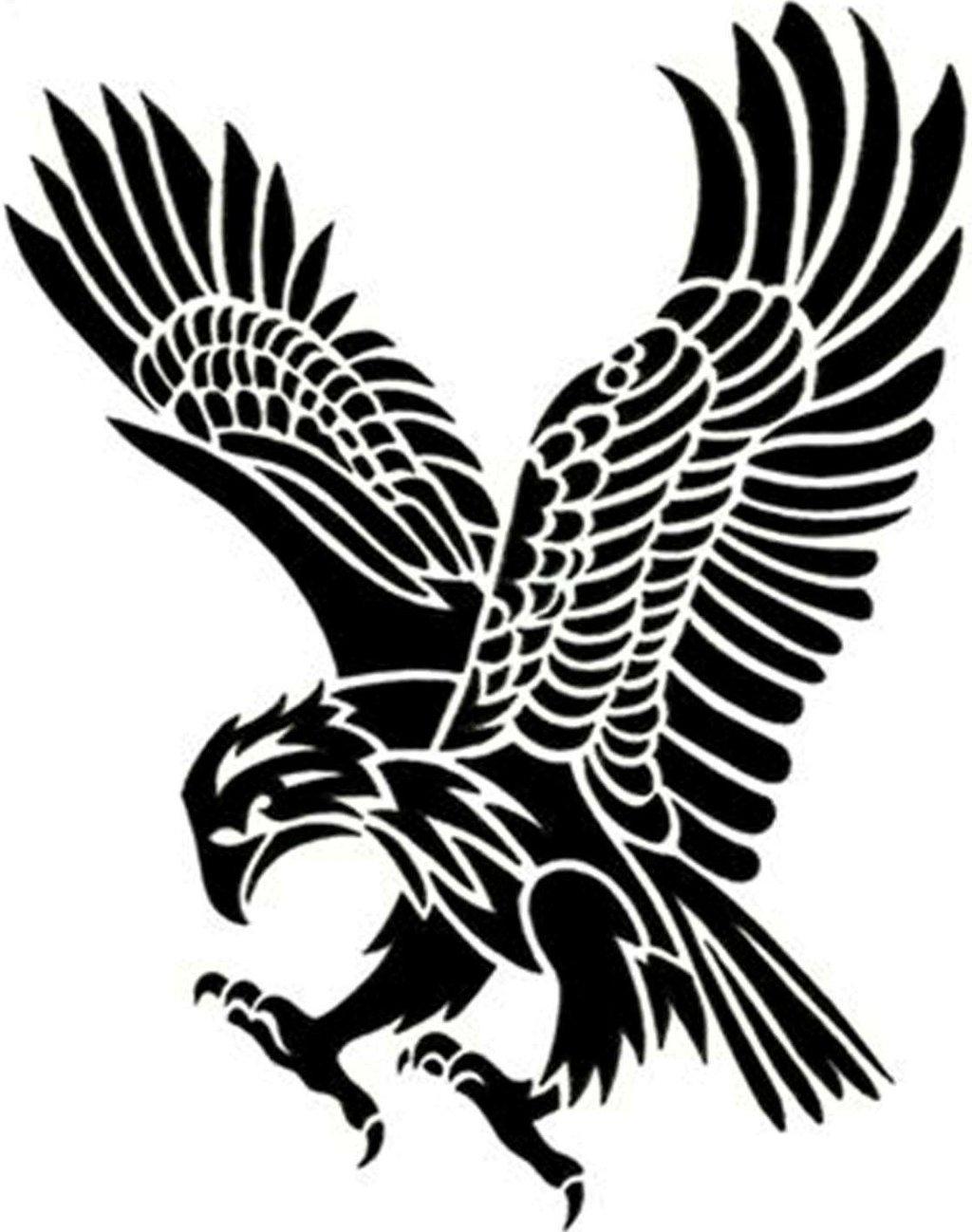 14 Cool Eagle Designs Images - Eagle Feather Tattoo Designs