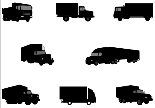 11 Truck Vector Graphics Images