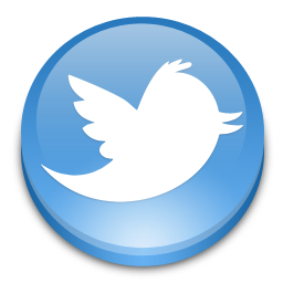 10 Twitter Icon Button Images