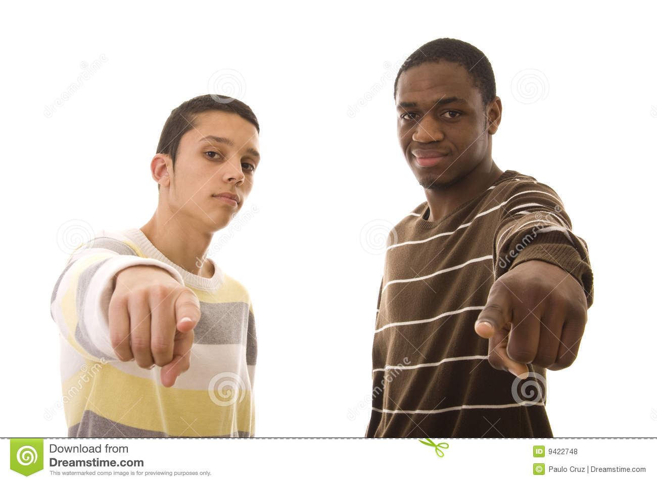 Two Men Stock Photos
