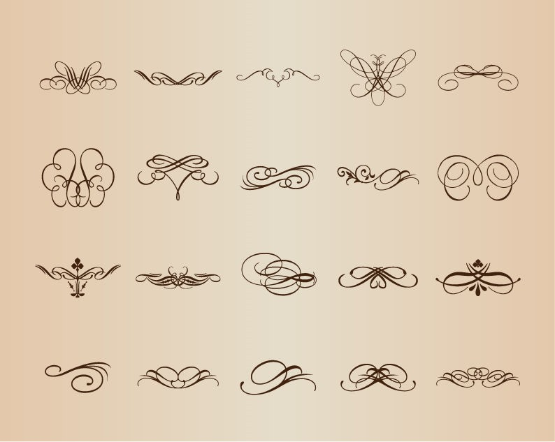 Vector Decorative Elements