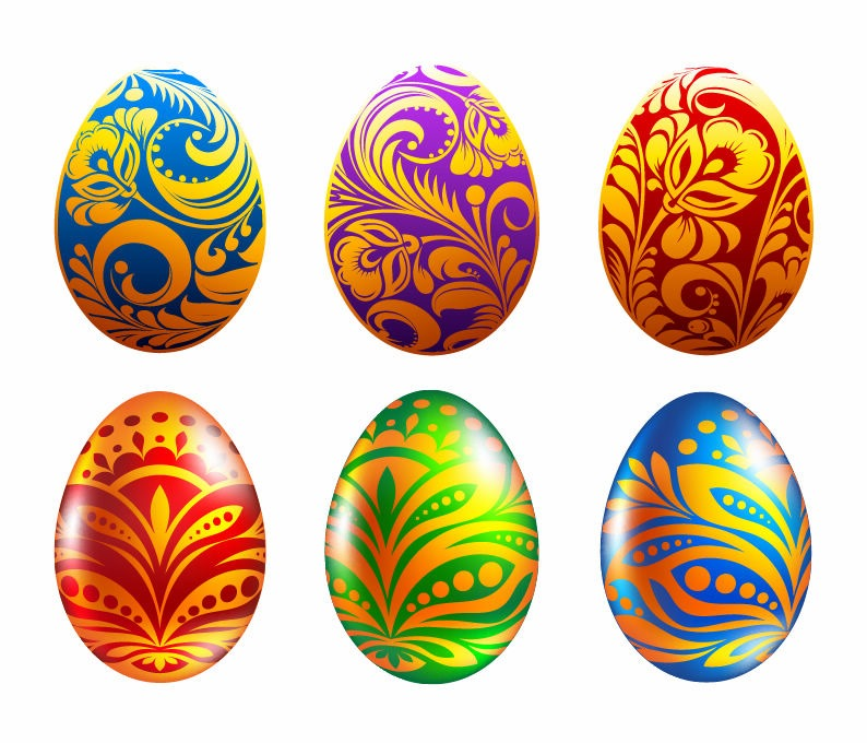 Vector Easter Eggs
